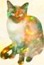 an opal kitty